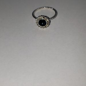 LC lauren Conrad silver costume ring blue …